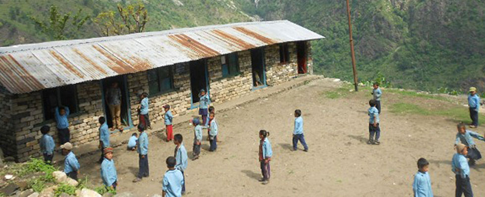 Volunteering in Remote School