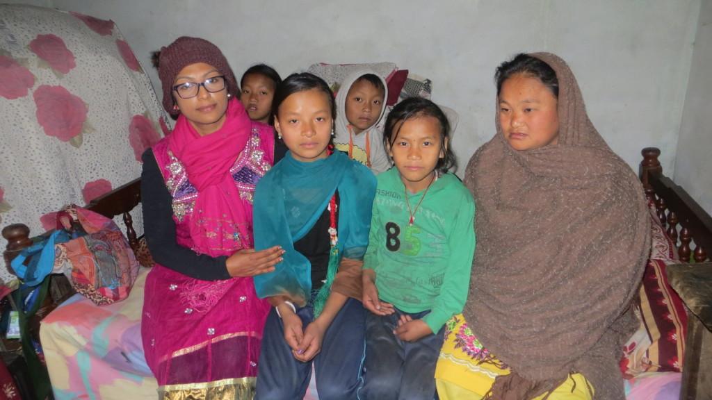 Single Mother nepal, children help