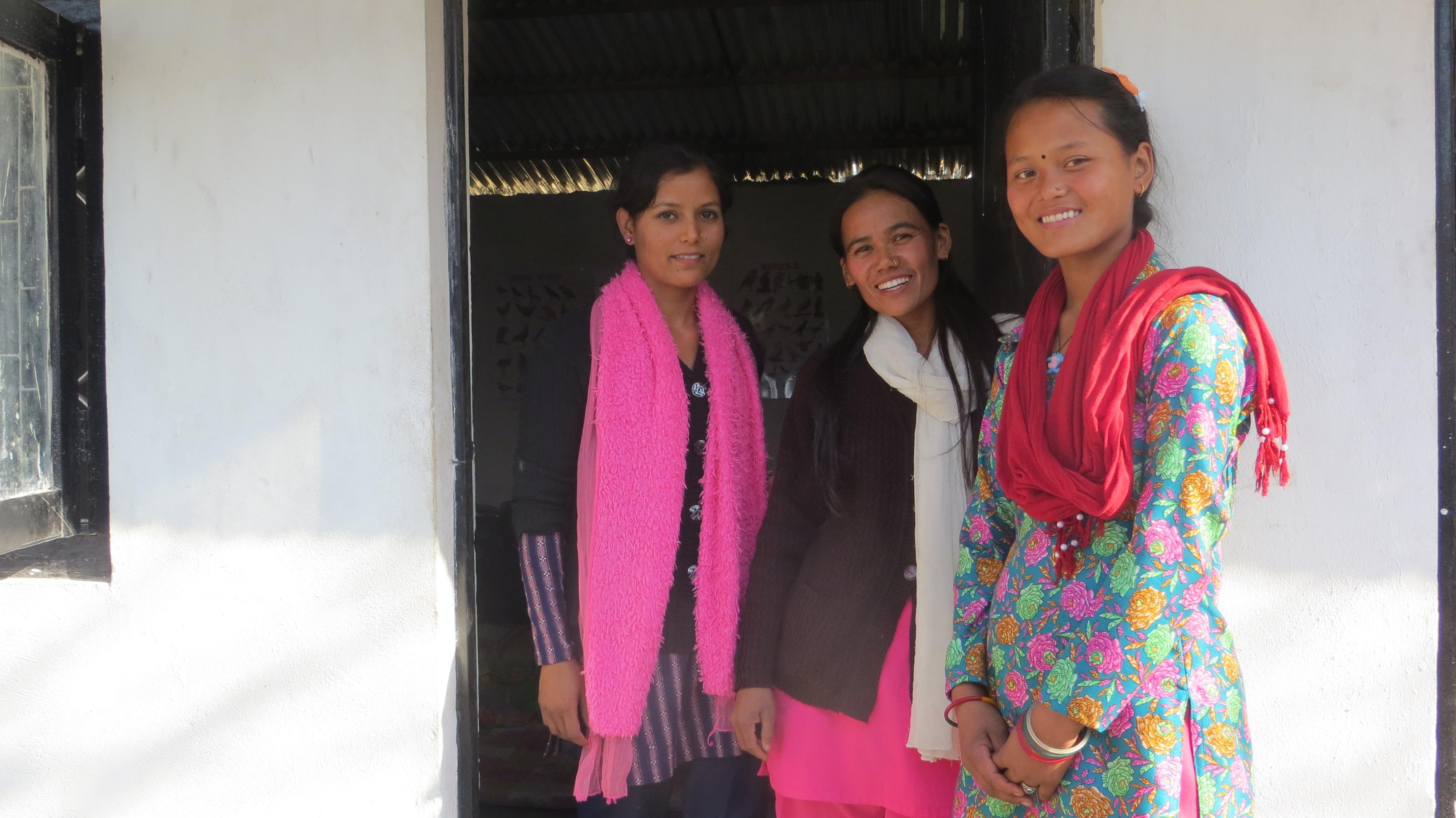 Teacher, School, Nepal